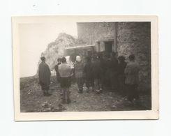 Photographie Préparatifs De Messe Au Refuge  La Dent D'oche 14/08/1945  Photo 6,2x9 Cm Env - Lieux