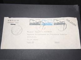 LIBAN - Enveloppe De L 'Unesco De Beyrouth Pour Paris En 1953 - L 15464 - Liban