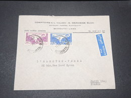 LIBAN - Enveloppe Commerciale De Beyrouth Pour Paris En 1950 - L 15465 - Liban