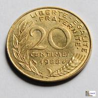 Francia - 20 Céntimes - 1988 - Francia