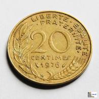 Francia - 20 Céntimes - 1976 - Francia
