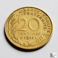 Francia - 20 Céntimes - 1971 - Francia