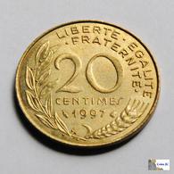 Francia - 20 Céntimes - 1997 - Francia