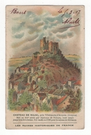 Château De Najac. Les Ruines Historiques De France. Q2 - Sonstige