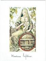 "Menu. Illustrateur : Foujita. ""Vierge à La Vigne"". Champagne MUUM. Reims. 1978. - Menus"