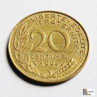 Francia - 20 Céntimes - 1994 - Francia