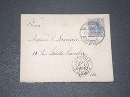 ALLEMAGNE - Enveloppe De Freiburg Pour Paris En 1914 - L 15473 - Allemagne