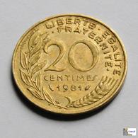 Francia - 20 Céntimes - 1981 - Francia