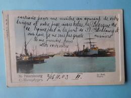 St Pétersbourg 1903 Le Port - Russie
