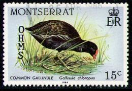MONTSERRAT 1985 - From Set OHMS Used - Montserrat