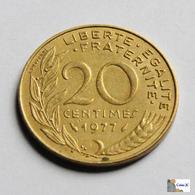 Francia - 20 Céntimes - 1977 - Francia