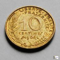Francia - 10 Céntimes - 1968 - D. 10 Céntimos