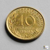Francia - 10 Céntimes - 1970 - Francia