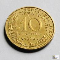 Francia - 10 Céntimes - 1976 - D. 10 Céntimos
