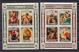 Zaire 1983 OCBn°  1208 -1215  *** MNH Cote 9,00 Euro Kerstmis - Zaïre