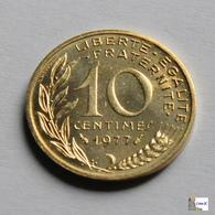 Francia - 10 Céntimes - 1977 - D. 10 Céntimos