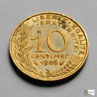 Francia - 10 Céntimes - 1986 - D. 10 Céntimos