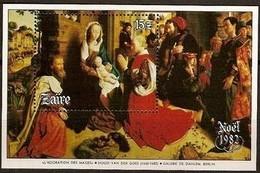 Zaire 1982 Ocbn°  Bloc 53  *** MNH Cote 8,00 Euro Noël Christmas - 1980-89: Neufs