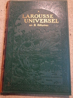 Larousse Universel - Claude Augé - 1922 - Dictionaries