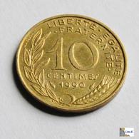 Francia - 10 Céntimes - 1990 - D. 10 Céntimos