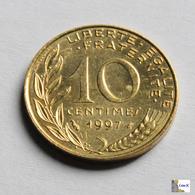 Francia - 10 Céntimes - 1997 - D. 10 Céntimos
