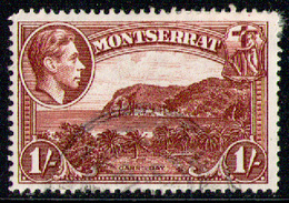 MONTSERRAT 1938 - From Set Used - Montserrat