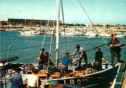 Cpm ROYAN 17 Retour De Pêche  - Animée, Déchargement Poisson - - Royan