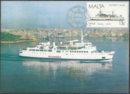 MALTA 1987 Mi-Nr. 777 MK/MC - Boten
