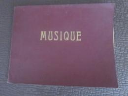 ANCIENNE PARTITION MUSICALE MANUSCRIT Porte Plume Encre-La Truite-Le Départ-Les Forgerons-Les Genets-Rondeau De La Cocar - Partituras