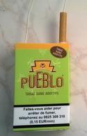 Faux Paquet De Cigarette PUEBLO En Plastique - Objets Publicitaires