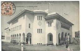 Maroc - Casablanca -  La Grande Poste - Casablanca