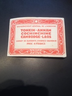 CARNET DE 40 TIMBRES-SOUVENIR + 9 // INDOCHINE 1930 - Verzamelingen (zonder Album)
