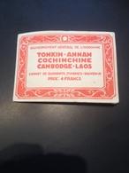 CARNET DE 40 TIMBRES-SOUVENIR + 9 // INDOCHINE 1930 - Timbres