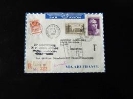 20 IEME ANNIVERSAIRE DE LA LIAISON AERIENNE PARIS SAIGON - Luftpost
