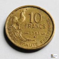 Francia - 10 Francs - 1951 - Francia