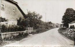 CPSM Dentelée - CRAINVILLIERS (88) - Aspect De L'entrée Du Bourg Et De La Rue Principale En 1957 - Corcieux