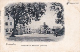 19095Suriname, Paramaribo Heerenstraat (Oostelijk Gedeelte) - Surinam