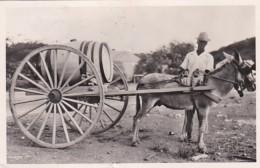 190916Curacao, Vendedor De Agua (onderin Een Klein Scheurtje) - Curaçao