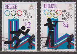 Jeux Olympiques D'hiver - Lake Placid - BELIZE - Patinage De Vitesse - Biathlon -  N° 451-453 - 1979 - Belize (1973-...)