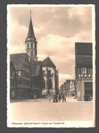 Schorndorf - Gottlieb-Daimler-Strasse Mit Stadtkirche - Verlag Victor Weichert - Echte Photokarte - 1952 - Animiert - Schorndorf