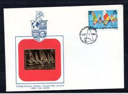 9547 British Virgin Islands, Jungferninsel, Mi 475 Mit Goldmarke FDC - British Virgin Islands