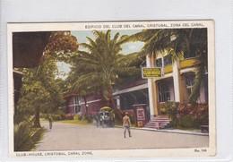 PANAMA.EDIFICIO DEL CLUB DEL CANAL, CRISTOBAL, ZONA DEL CANAL. No 366. I L MADURO JR.-TBE-BLEUP - Panama
