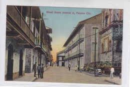 PANAMA. STREET SCENE(AVENUE A). I L MADURO JR.-TBE-BLEUP - Panama