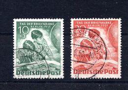 9550 Deutschland, Germany, West-Berlin, Mi 80-81, Gest. - Gebraucht