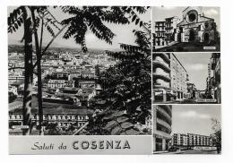 SALUTI DA COSENZA  - NV   FG - Cosenza