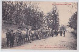 BOURG-MADAME - Charroi Du Minerai - Le Contrôle à La Douane Espagnole - Attelage De Boeufs - Frankreich