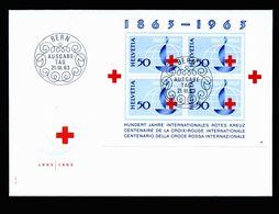 A5292) Schweiz 2 FDC Mi. Block 18 Und 19 - Schweiz