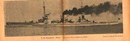 Panzerkreuzer Moltke /Druck,entnommen Aus Zeitschrift /Datum Unbekannt - Books, Magazines, Comics