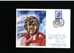 Austria / Oesterreich 1985 Reinhold Messner - Bergsteigen