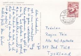 Greenland Postcard Posted Kap Dan Pr. Angmagalik 1971 (G51-98) - Briefe U. Dokumente